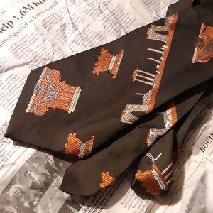Vintage Grecian/Roman Design Necktie by DAMON